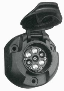 Anhängerstecker Multicon WeSt-System 7//13 polig Adapter Stecker Dose